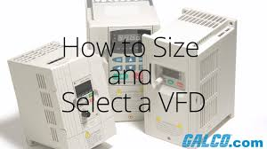 How To Size And Select A Variable Frequency Drive At Galco Com