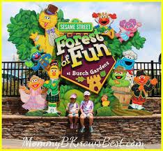 bush garden williamsburg. Busch Gardens Williamsburg. Sesame Street Forest Of Fun MommyB Knows Best Bush Garden Williamsburg I