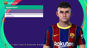 PES 2021 Faces Pedri by SR ~ SoccerFandom.com   Free PES Patch and FIFA  Updates