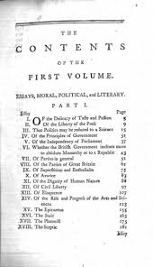 essays moral political literary lf ed online library of liberty title page 0059 toc1