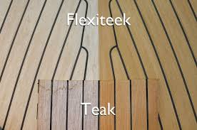 plastic as a teak substitute for boat decking