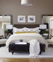 Beige bedroom walls