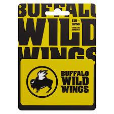 buffalo wild wings non denominational gift card1 0 ea