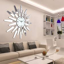 wall decor best of decorative clocks for living room large pertaining to oversized modern clock decorations