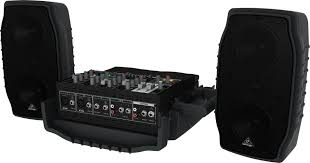 speakers 200 watts. 5-channel 200 watt compact portable pa system with wireless expandability and multi-fx speakers watts