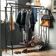 Double Coat Rack Niles Double Coat Rack Coat Racks Hanging Rail And Dressing Room 41