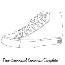 converse shoes drawing. dawntroversial converse template design your own at www.dawntroversial.com shoes drawing