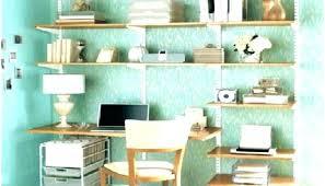 home office shelves. Shelves Above Desk Creative Home Office Wall Storage Ideas D