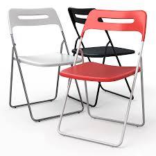 white chairs ikea nisse folding chair high. Perfect White NISSE Folding Dining Chair Royaltyfree 3d Model  Preview No 1 In White Chairs Ikea Nisse Chair High A