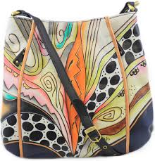 home magnifique bags handpainted purses bags leopard front flap organizer leather hand painted
