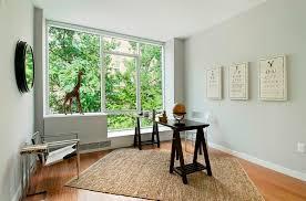 angled rug office