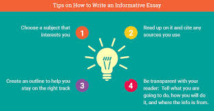 how to write an informative essay in steps w example informative essay example