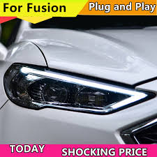 <b>Car Styling Head Lamp</b> for Ford Mondeo 2017 2018 Headlights for ...