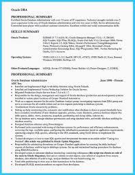 Data Architect Resume Lovely Resume Example Oracle Database