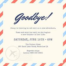 Farewell Invites For Colleagues Party Farewell Party Invitation As Your Ideas Amplifyer For