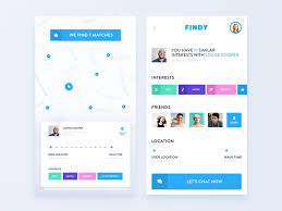 Chart Chat Connect New Mobile App Design Connecting People By Dmitro Petrenko