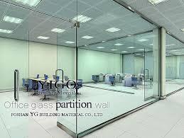 glass exterior modern office. hot sale modern office partition glass wall exterior e