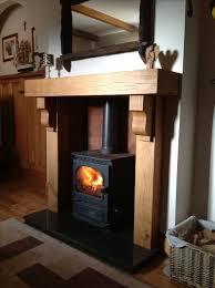 traditional irish oak mantle fireplace surround glenfort com