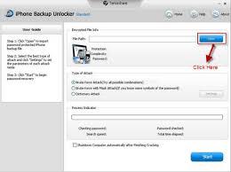 import iphone 5 backup file