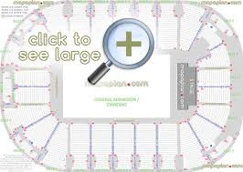 U2 Seating Chart Las Vegas Odyssey Sse Arena Seat Row Numbers Detailed Seating Chart