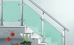 steel and toughened glass staircase