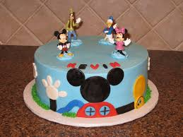 Mickeys First Birthday Cake Topper Classic Style Mickey Mouse