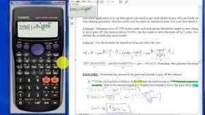 Amortized Loan Calculator
