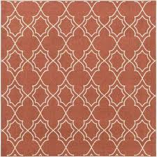 Red Square Outdoor Rugs Rugs The Home Depot