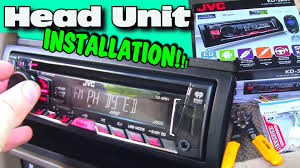 installing an aftermarket cd player w jvc head unit double din jvc wiring harness installing an aftermarket cd player w jvc head unit double din dash kit install & wiring harness youtube