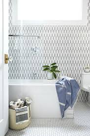 white hexagon tile with build firms bathroom transitional and subway hex floor glass lovely shower door glass mix stone hexagon wall mosaic tile elongated