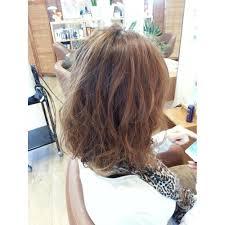 ゆるふわパーマボブ Ficusフィカスのヘアスタイル 美容院