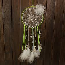 Dream Catcher With Crystals Beautiful Dream Catcher Pearl Crystal Embroidered Dreamcatcher For 52