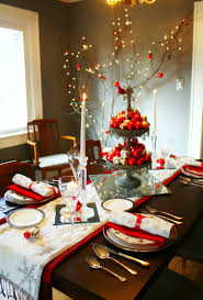 Decoration Ideas For Christmas Dinner Table Decorating Dining Room Decor  Decorations