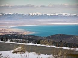 garden city utah located on bear lake is popular for skiing snowmobiling