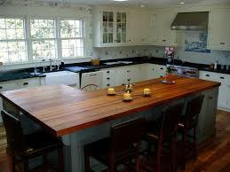 Wooden Kitchen Countertops Edge Grain Wood Countertops Brooks Custom