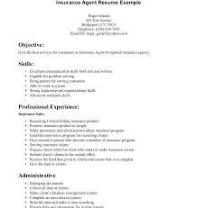 Insurance Agent Job Description For Resume Mesmerizing Life Insurance Agent Resume Resume Insurance Agent Series 48 Resume
