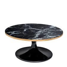 more views parme black coffee table