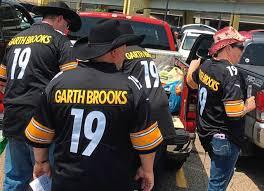 Garth Brooks Seating Chart Heinz Field Garth Brooks Fans Swarm North Shore Prior To Heinz Field