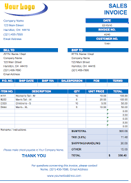 Free Tax Invoice Template Free Excel Invoice Templates Smartsheet 82