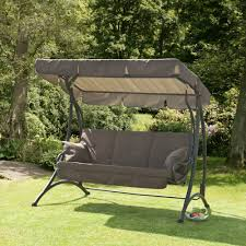 3 seater outdoor swing chair designs