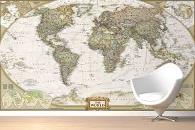 world map wallpaper atlas wall murals murals wallpaper