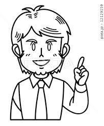 説明 ベクター 英語先生 男性のイラスト素材 Pixta