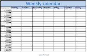 Custom Weekly Printable Calendar Calendarsquicke Cute