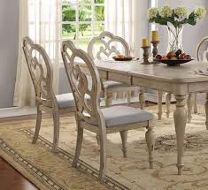 Antique White Dining Room Impressive Decorating