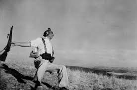 "looking at war the new yorker robert capa s famous ""the falling ier"" was taken in 1936 a few weeks after the outbreak of the spanish civil war"