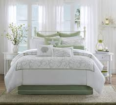 harbor house brisbane comforter set queen bedding within green and white comforter