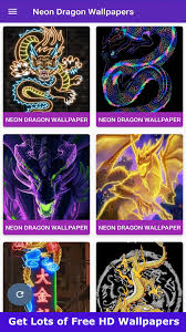 Neon Dragon wallpaper 4K for Android ...