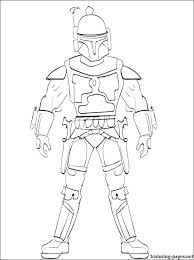 jango fett coloring page. Perfect Jango Jango Fett Coloring Pages Star Wars Printable Page To Color  Free On Jango Fett Coloring Page