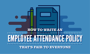 Employee Of The Month Write Ups How To Write An Employee Attendance Policy Thats Fair To