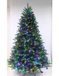 The Ultra Devonshire Fir Pre-lit with Warm White/Multicoloured Colour  change LEDs (